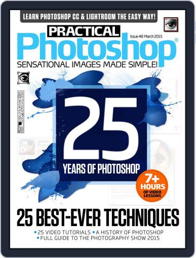 Practical Photoshop (Digital) February 27th, 2015 Issue Cover