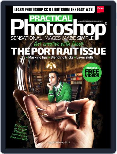 Practical Photoshop (Digital) February 1st, 2015 Issue Cover