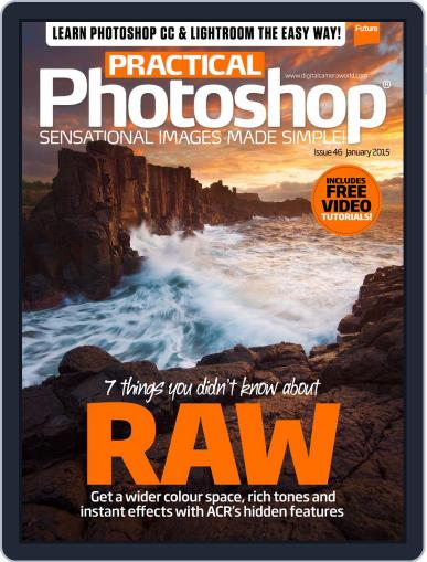 Practical Photoshop (Digital) December 28th, 2014 Issue Cover