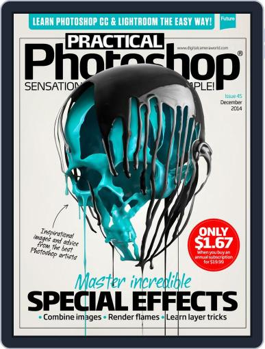 Practical Photoshop (Digital) November 27th, 2014 Issue Cover