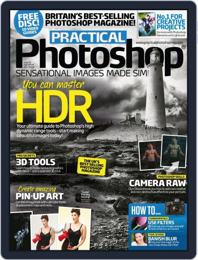 Practical Photoshop (Digital) August 21st, 2013 Issue Cover