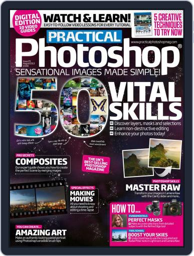Practical Photoshop (Digital) July 24th, 2013 Issue Cover
