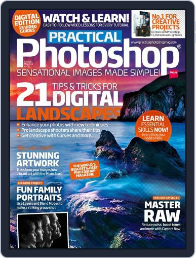 Practical Photoshop (Digital) April 3rd, 2013 Issue Cover