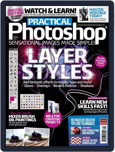 Practical Photoshop (Digital) March 9th, 2012 Issue Cover
