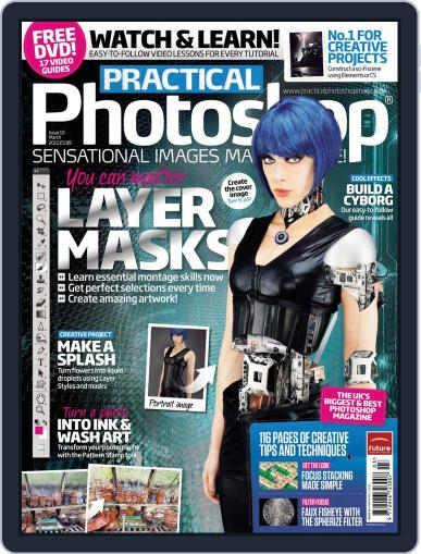Practical Photoshop (Digital) February 9th, 2012 Issue Cover