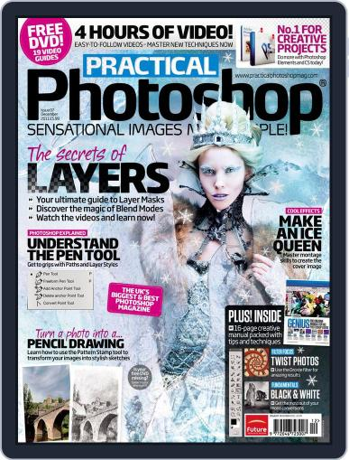 Practical Photoshop (Digital) November 16th, 2011 Issue Cover