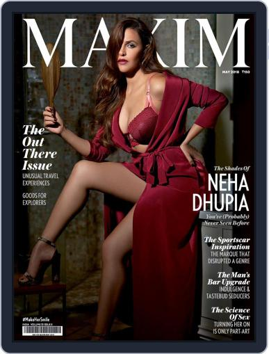 Maxim India (Digital) May 1st, 2018 Issue Cover