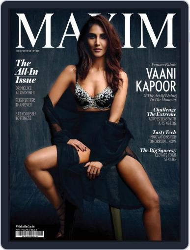 Maxim India (Digital) March 1st, 2018 Issue Cover
