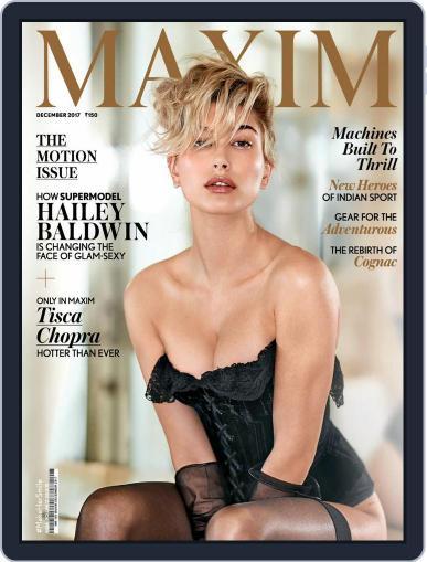 Maxim India (Digital) December 1st, 2017 Issue Cover