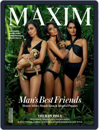 Maxim India (Digital) August 1st, 2017 Issue Cover