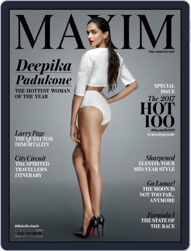Maxim India (Digital) June 1st, 2017 Issue Cover