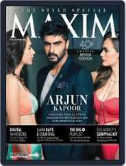 Maxim India (Digital) Subscription October 1st, 2015 Issue