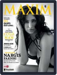 Maxim India (Digital) Subscription September 8th, 2014 Issue