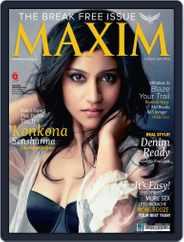 Maxim India (Digital) Subscription August 9th, 2013 Issue