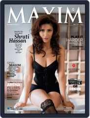 Maxim India (Digital) Subscription May 10th, 2013 Issue