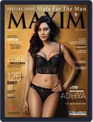 Maxim India (Digital) Subscription April 5th, 2013 Issue