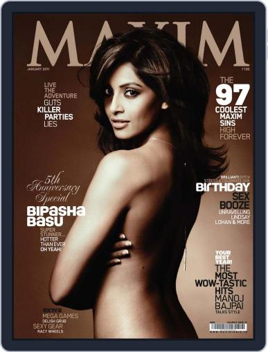 Maxim India (Digital) January 10th, 2011 Issue Cover