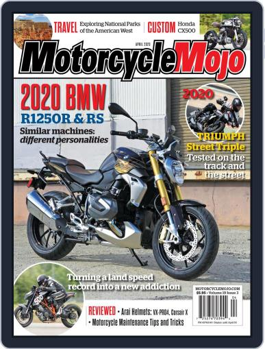 Motorcycle Mojo April 1st, 2020 Digital Back Issue Cover