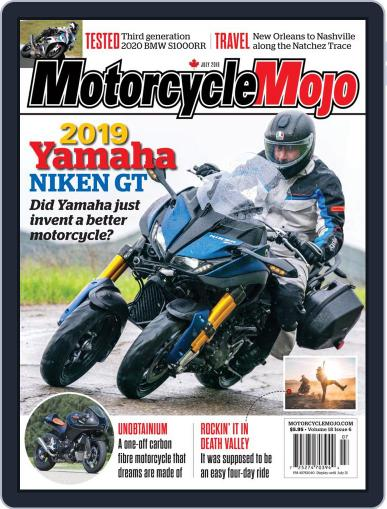 Motorcycle Mojo July 1st, 2019 Digital Back Issue Cover