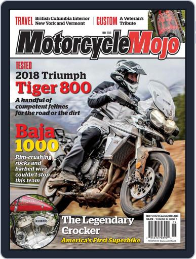Motorcycle Mojo May 1st, 2018 Digital Back Issue Cover