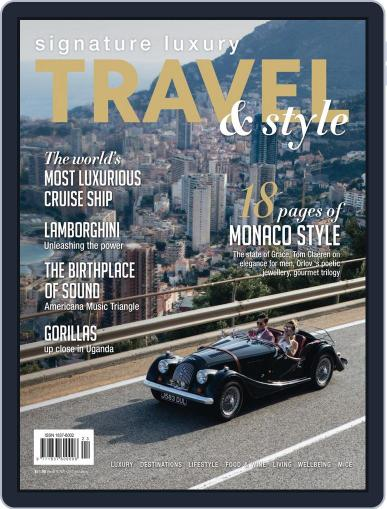 Signature Luxury Travel & Style October 1st, 2016 Digital Back Issue Cover