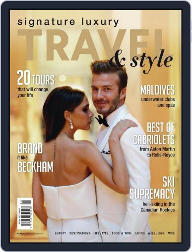 Signature Luxury Travel & Style December 31st, 2015 Digital Back Issue Cover