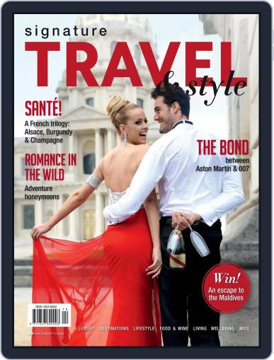 Signature Luxury Travel & Style September 27th, 2015 Digital Back Issue Cover