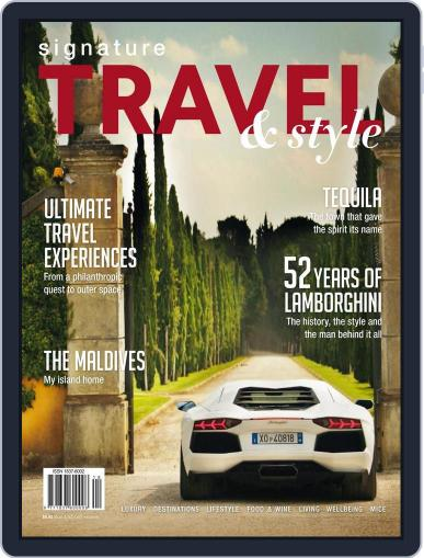 Signature Luxury Travel & Style September 9th, 2015 Digital Back Issue Cover