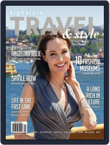 Signature Luxury Travel & Style March 1st, 2015 Digital Back Issue Cover