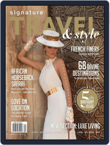 Signature Luxury Travel & Style December 18th, 2014 Digital Back Issue Cover