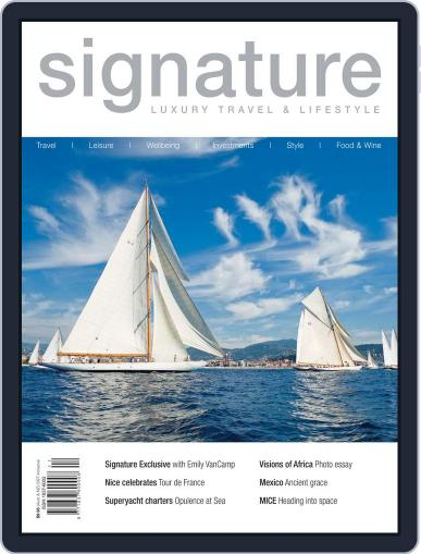 Signature Luxury Travel & Style November 7th, 2013 Digital Back Issue Cover