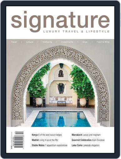 Signature Luxury Travel & Style April 22nd, 2013 Digital Back Issue Cover