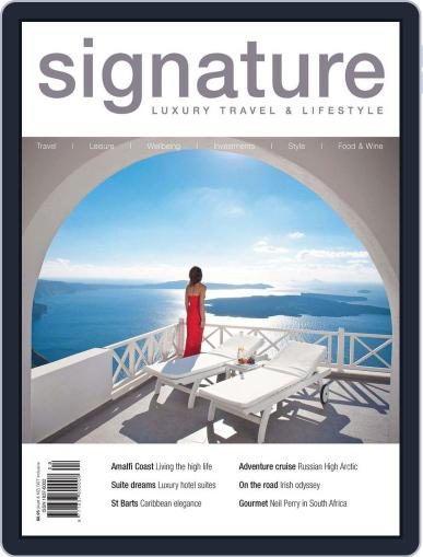 Signature Luxury Travel & Style December 6th, 2012 Digital Back Issue Cover