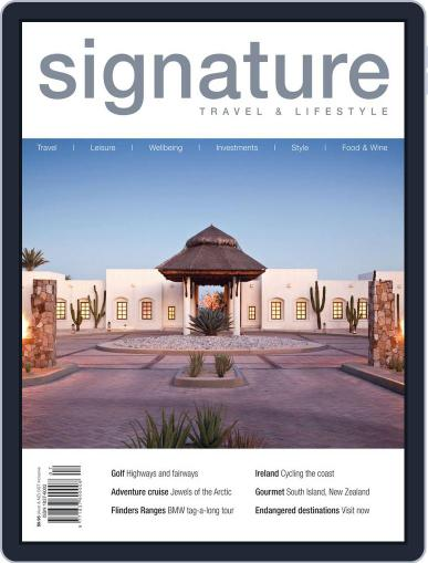 Signature Luxury Travel & Style May 24th, 2012 Digital Back Issue Cover
