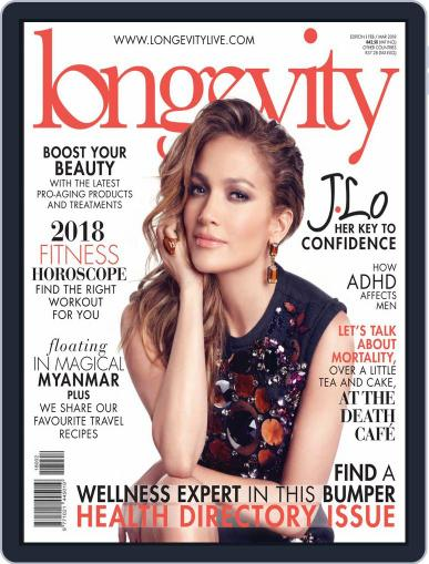 Longevity South Africa February 1st, 2018 Digital Back Issue Cover