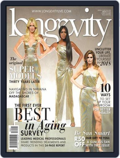 Longevity South Africa (Digital) December 1st, 2017 Issue Cover