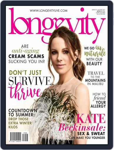 Longevity South Africa August 1st, 2017 Digital Back Issue Cover