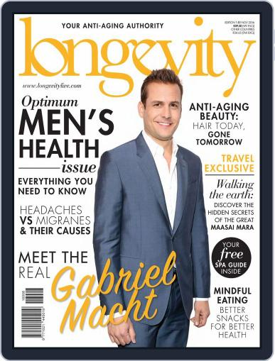 Longevity South Africa November 1st, 2016 Digital Back Issue Cover
