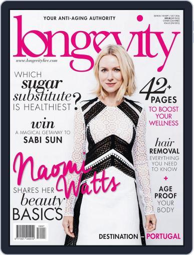 Longevity South Africa September 1st, 2016 Digital Back Issue Cover