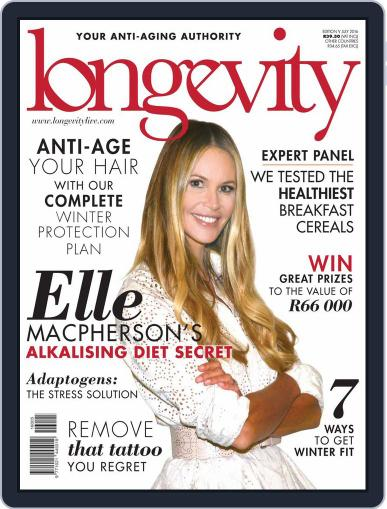 Longevity South Africa (Digital) June 20th, 2016 Issue Cover