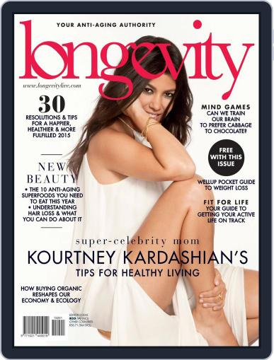 Longevity South Africa January 20th, 2015 Digital Back Issue Cover