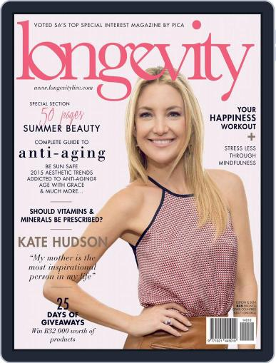 Longevity South Africa (Digital) December 15th, 2014 Issue Cover