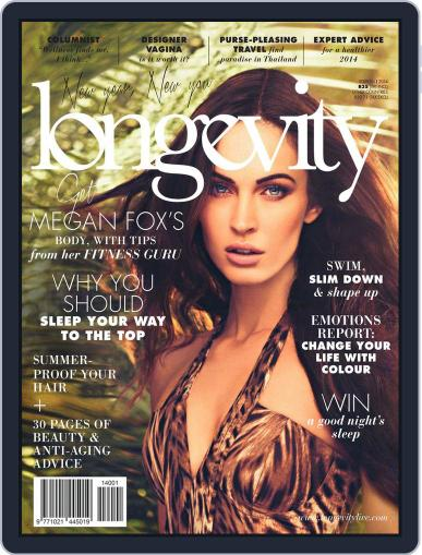 Longevity South Africa (Digital) January 10th, 2014 Issue Cover