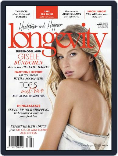 Longevity South Africa (Digital) October 28th, 2013 Issue Cover