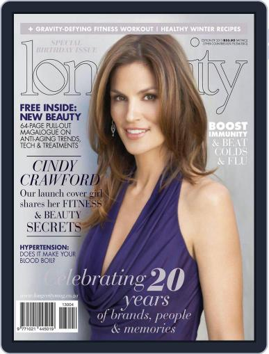 Longevity South Africa (Digital) May 12th, 2013 Issue Cover