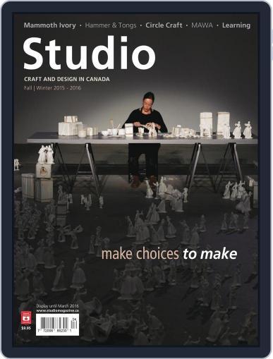 Studio Magazine (Digital) September 21st, 2015 Issue Cover