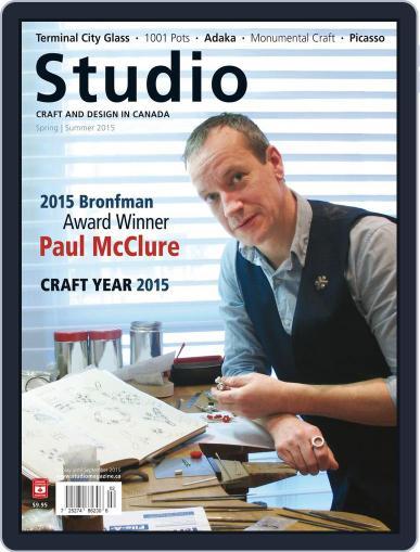 Studio Magazine (Digital) March 30th, 2015 Issue Cover