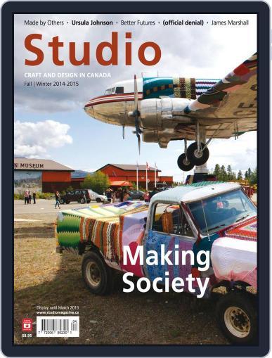 Studio Magazine (Digital) November 25th, 2014 Issue Cover