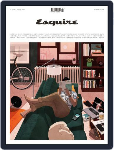 Esquire UK (Digital) July 1st, 2020 Issue Cover
