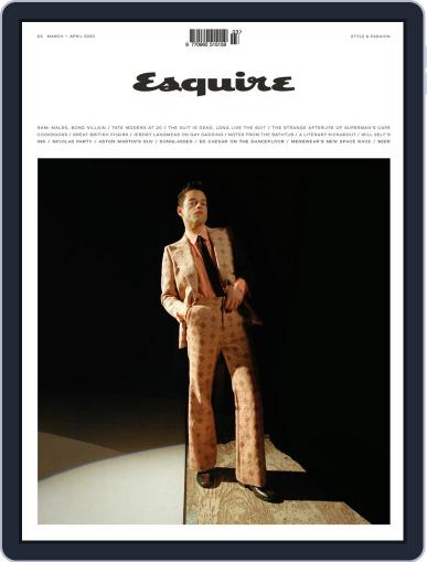 Esquire UK (Digital) March 1st, 2020 Issue Cover